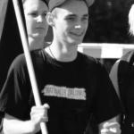 Bastian Löhr, Neonazi Mahnwache in Unna 2012